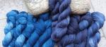 Seeblau/Lavendelblau